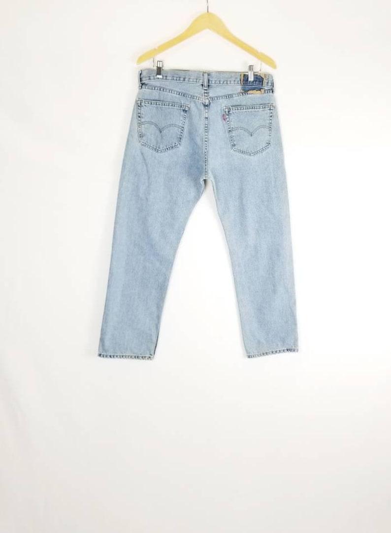 9782091e3a6 Levi's 505 Light Wash jeans 80s Vintage Levis //   Etsy