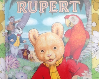 Rupert Annual 1987. Great condition.
