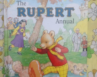 1997 Rupert Annual. Great condition.
