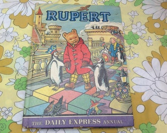 1977 Rupert Annual. Great condition.