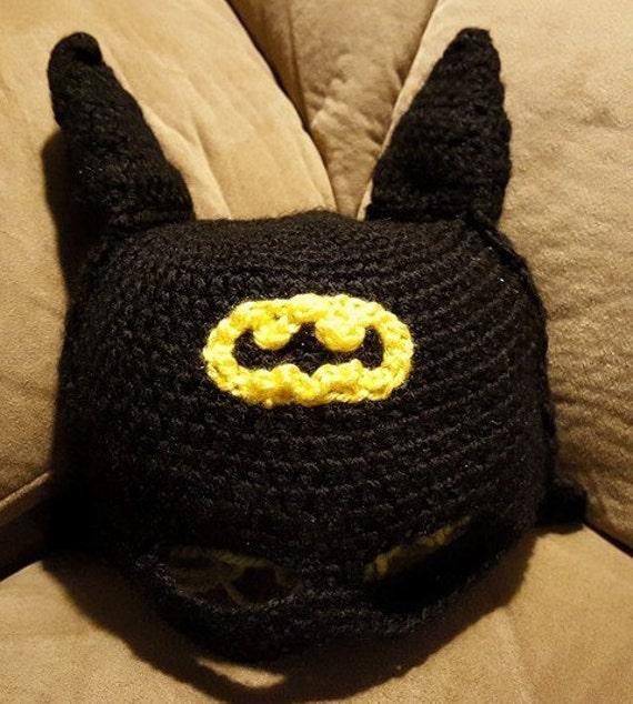 Batman Mütze Häkeln