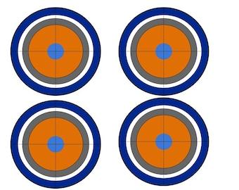 picture regarding Nerf Target Printable identify Nerf gun aim Etsy