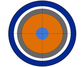It is a graphic of Divine Nerf Target Printable