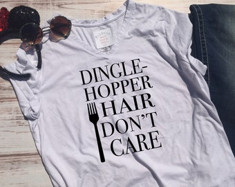 4832a9e75 Dingle Hopper Hair Shirt | Park Shirt | Matching Shirts | Little Mermaid  Shirt