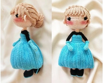 Amigurumi Crochet Rapunzel amigurumi (crocheted) – Amigurumi Patterns | 270x340
