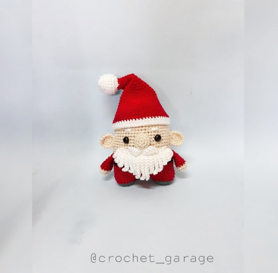 Santa Claus Crochet Amigurumi Pattern – Snacksies Handicraft | 561x570