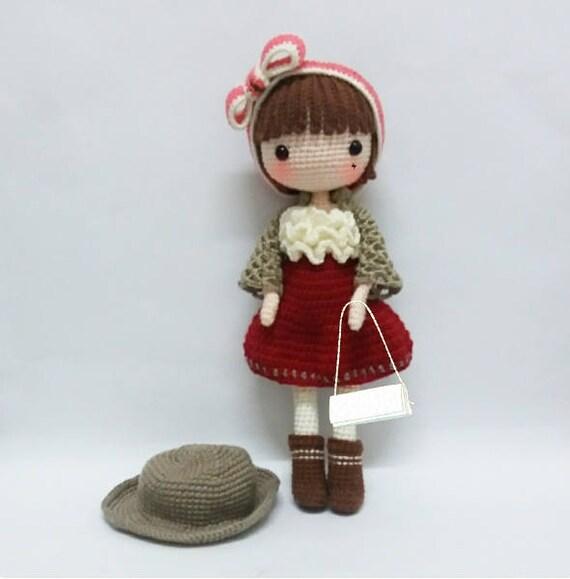 Crochet Garage Crochet Doll Pattern Amigurumi Doll Pattern Etsy Delectable Amigurumi Doll Pattern