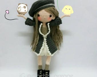 Crochet garage, Crochet doll pattern / Amigurumi doll pattern - AMARYLS