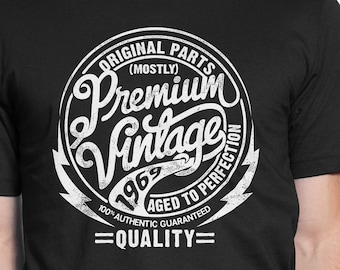 27842738 Premium Vintage 1969 - 50th Birthday, Aged to Perfection, Original Parts  Mostly, 50th Birthday Gift for Men and Women, Est 1969 PV-1969
