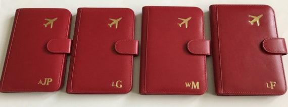 Détenteur d'un passeport familial personnalisé, sur mesure fait cadeau de demoiselle d'honneur, portefeuille, M. & Mrs.Gift,Anniversary cadeau, couverture de passeport RFID, cadeau nuptiale de douche