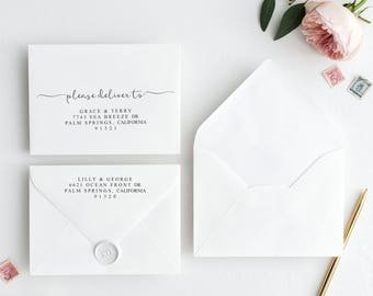 wedding envelope etsy