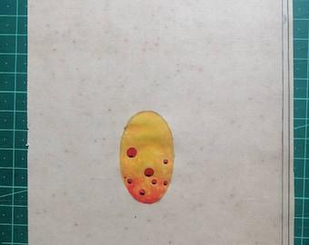 Cosmic Egg Brahmanda Tantric Song Handmade Painting