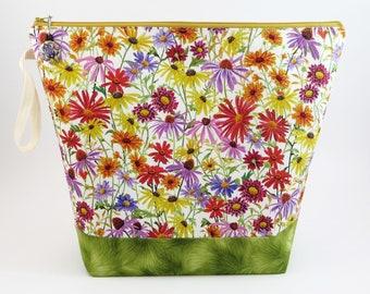 Acorn Wedge Knitting Bag