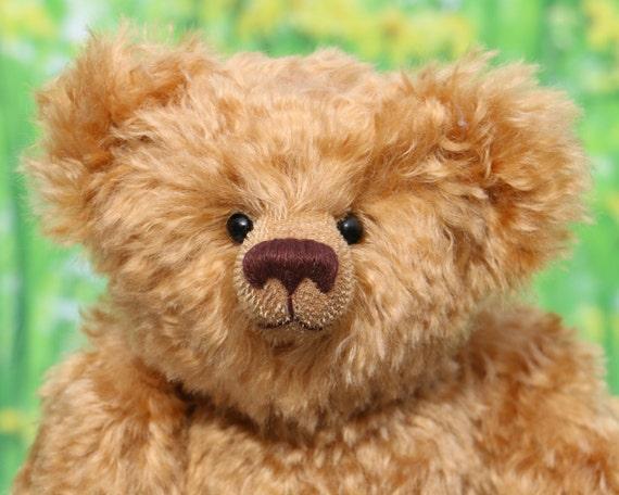 Fosdyke gedruckt traditionelle Mohair Teddybär Schnittmuster | Etsy