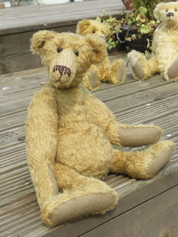 Hank gedruckt gegliedert Mohair Teddybär Schnittmuster machen   Etsy