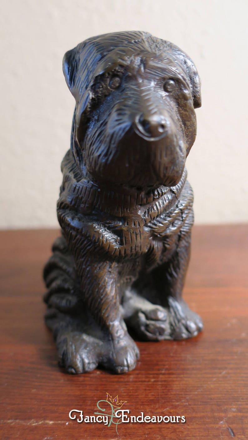 Gusseisen ?hund Figuren Türstopper ? Antike Bronze?