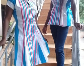 Lowager (smock) long dresses. Available in small, medium, and large.