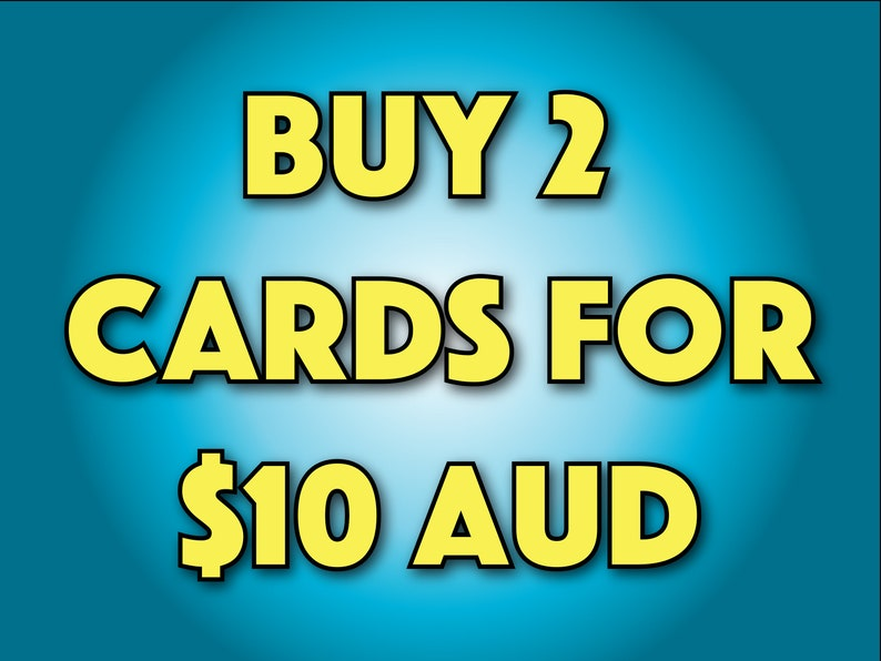 2 Cards For 10 Dollars Greeting Cheap Free
