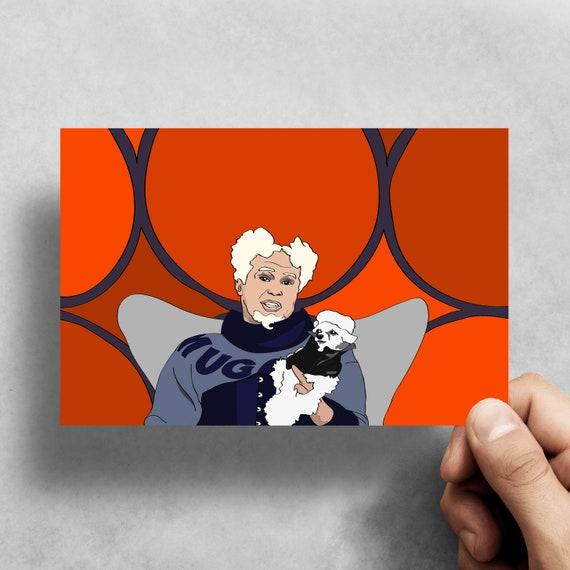 Mugatu Greeting Card Zoolander Will Ferrell Comedy