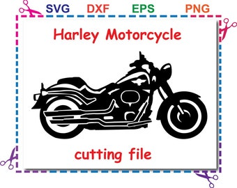 motorcycle svg,harley davidson Svg Eps Dxf files For Silhouette Studio,Cricut Design Space for Commercial & Personal Use- Instant Download