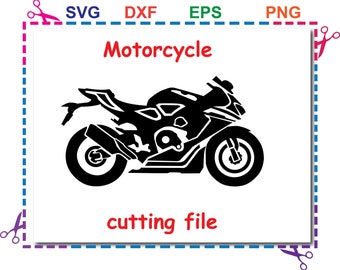 honda svg file, motorcycle  Svg Eps Dxf files For Silhouette Studio,Cricut Design Space for Commercial & Personal Use- Instant Download