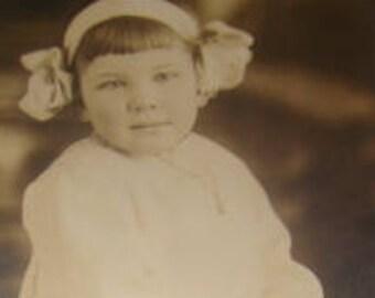 SALE Adorable Vintage RPPC (Little Girl)