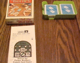 Vintage 1971 French Card Game (COMPLETE, In Original Box)