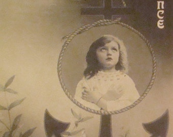 LAST CHANCE SALE Very Nice rppc of Cute Little Girl