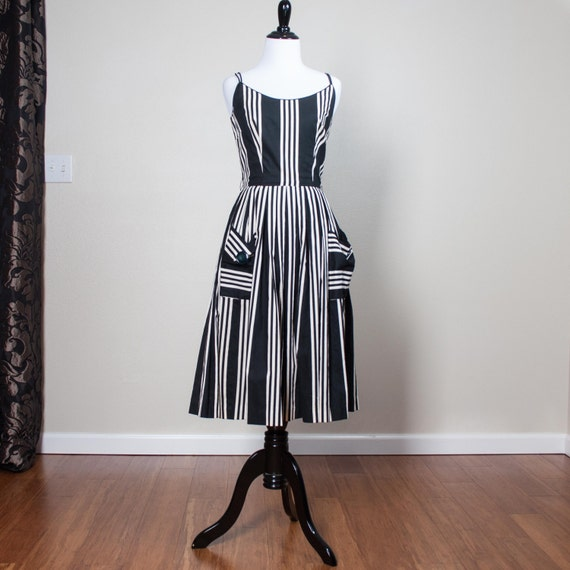 Vintage 1950s Jerry Gilden New York Summer Dress