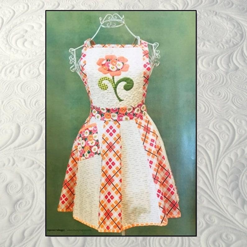Sweet Apron Pattern digital pdf download image 0