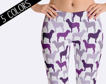 Rottweiler Leggings, Rottie Leggings, Dog Leggings, Capri Leggings, Rottweiler Clothing, Print Leggings, Rottie Clothing