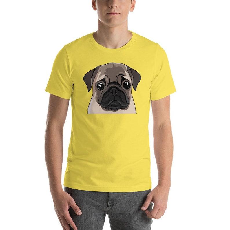 df842da0c Pug T-Shirt Funny Dog Shirt Dog Fathers Day Gift Puggle Dad | Etsy