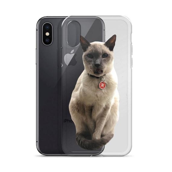 new arrivals 980ef 47653 Cat iPhone Case Custom Cat phone Case iPhone Cover Cat Photo Gift Cat Mom  Cat Dad Personalized Cat Gift Cool Cat Stuff