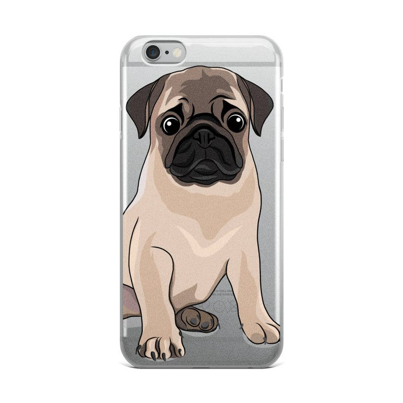 online store 5482e 06d05 Pug iPhone Case, Dog Phone Case, Pug Lover, Puggle, Cute Dog, Pet Lover,  Sad Dog Face, Dog Gift idea, Girlfriend Birthday, Dog Gift for Her