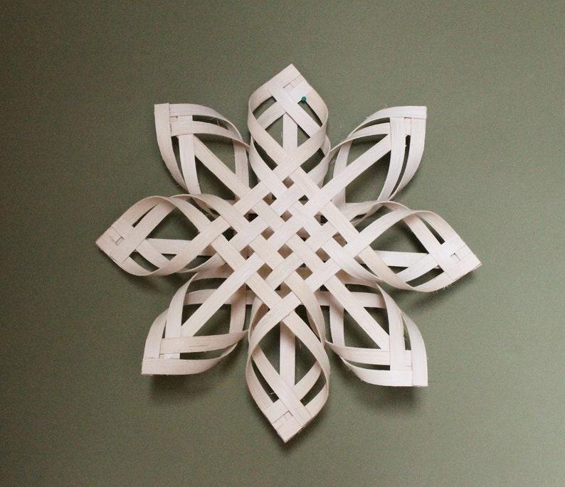 Large Swedish Advent Star/ Scandinavian Star/ Christmas Tree image 0