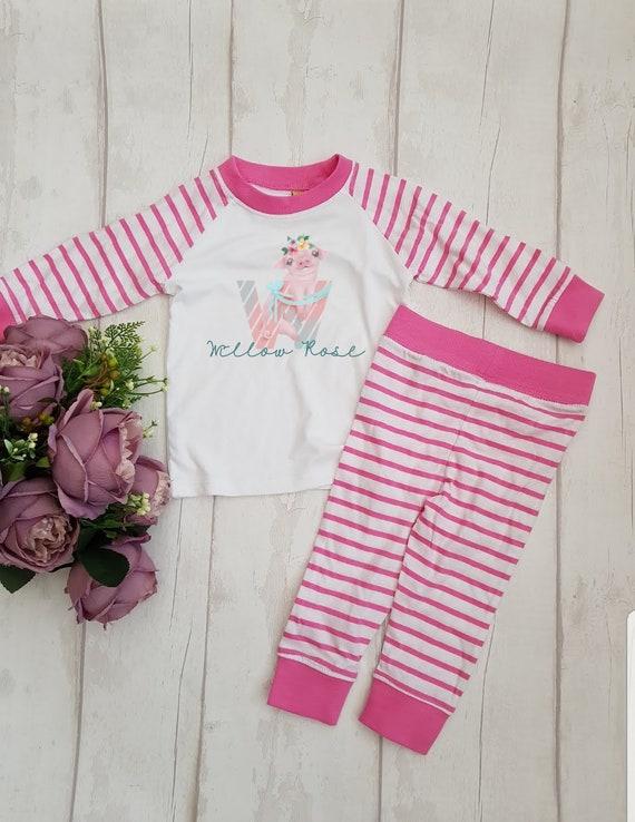 Childrens Animal Cute Pyjamas Girls