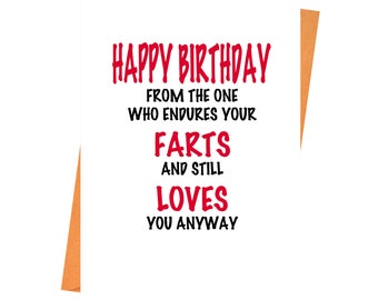 Funny Birthday Card Rude Birthday Card Naughty Card Etsy