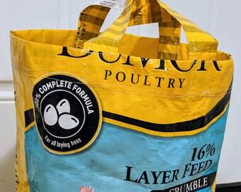 Up-cycled Reusable Shopping Bag
