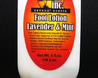 Foot Lotion Lavender & Mint