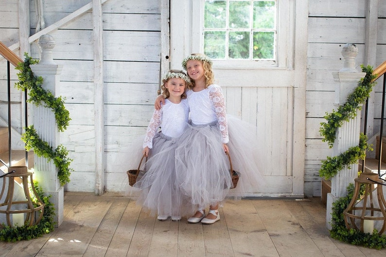 Wedding Tutu Flower Girl Tutu Bridesmaid Tutu Long Pink Nude Tutu Flower Girl Dress Pink Tutu Adult Tutu Girls Tutu