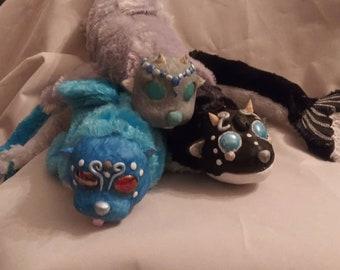 Selkie art dolls, poseable art doll,fantasy art doll,seal, merpet,mermaid pet, fantasy pet