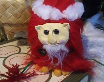 Santa claws, art doll, anticlaus, christmas