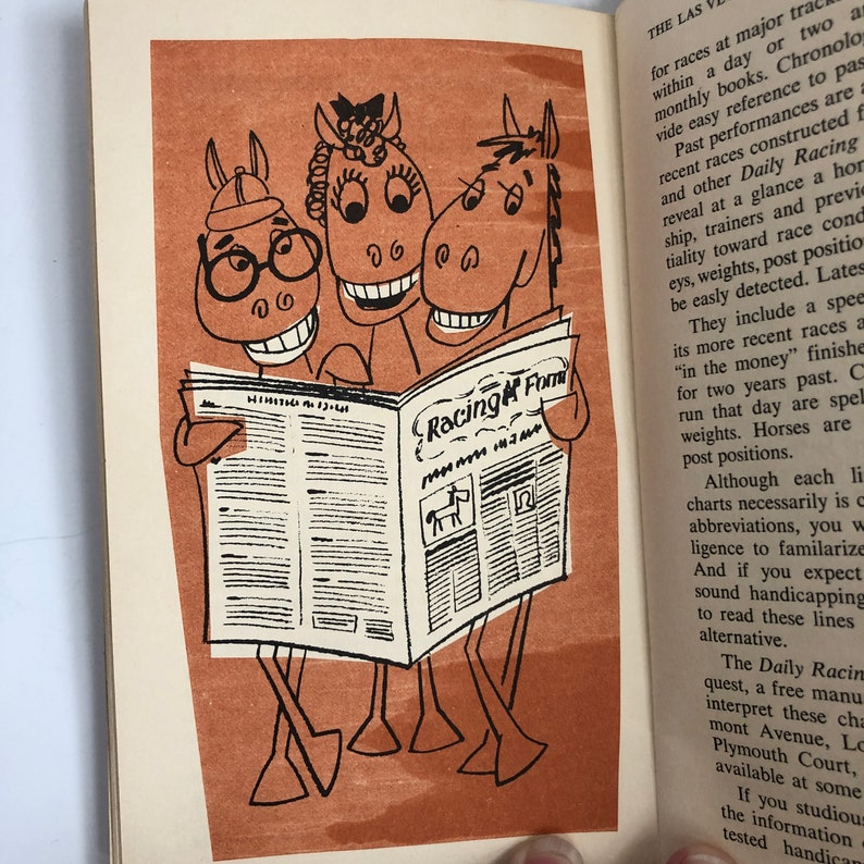 Horse Racing How to Win the Las Vegas Way~Written by George King~Endorsed  by Nick the Greek~Published by Gambling International 1965