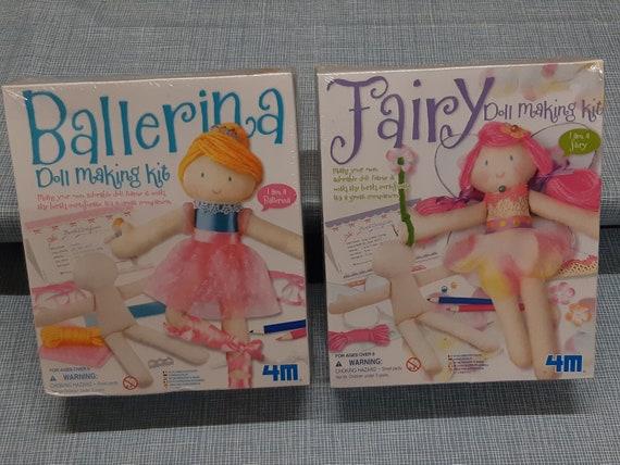 Kit pour faire sa propre poupée ballerine ou fée ! Poupées DIY