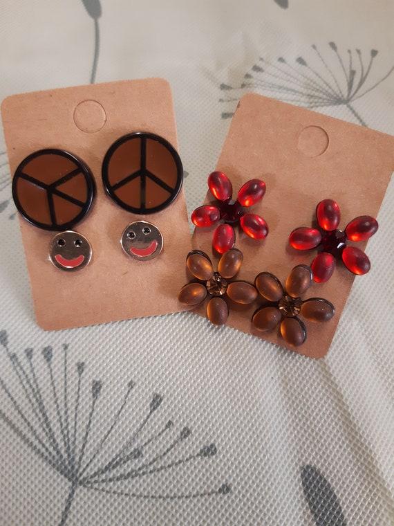 Boucles d'oreilles hippy bohème