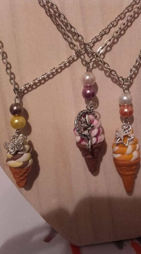 Collier sautoir glace pin up