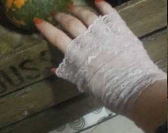 Powder Pink Provence mittens