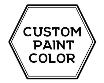Custom Paint Color add-on