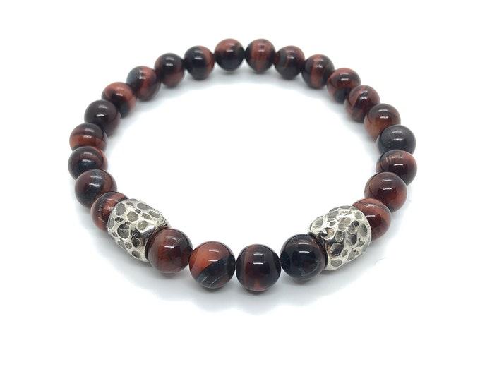 XANNA STONE Bracelet (14) semi-precious/piedras/porthole/Elegant Casual