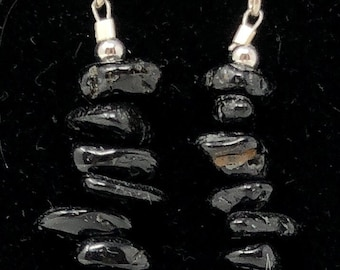 PENDING STONE IX /semi-precious/onyx stones and sterling silver 9.25/Boho chic casual and elegant